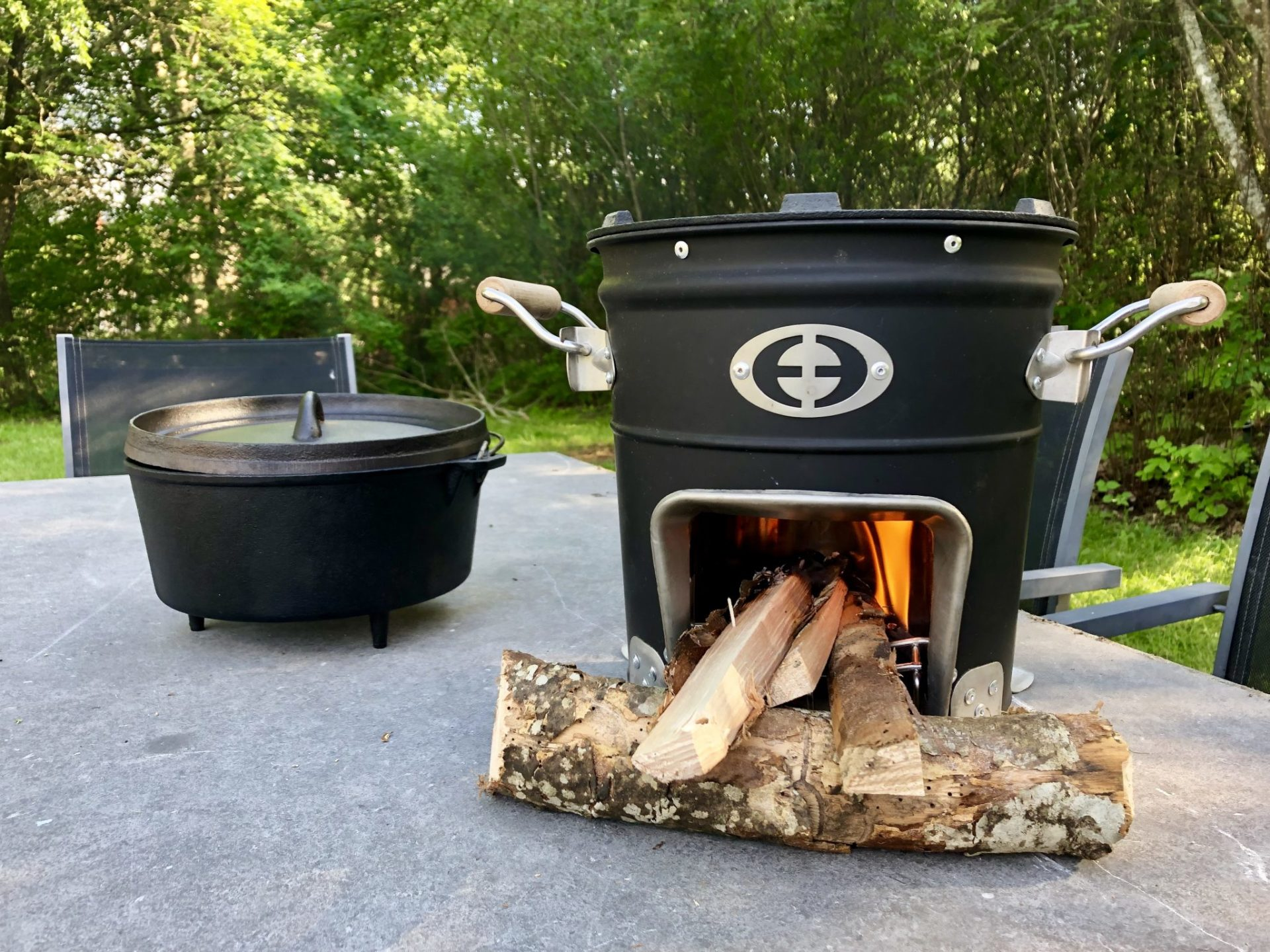 Mooi Gula Huset Outdoor Cooking