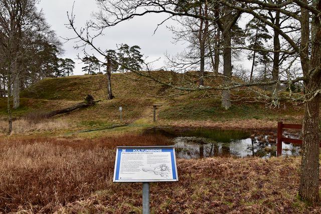 Piksborg slot ruine